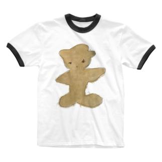 金子 Ringer T-shirts