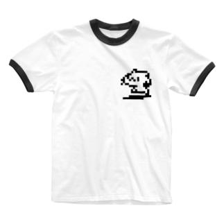 どどねこ-ピコピコ- Ringer T-shirts