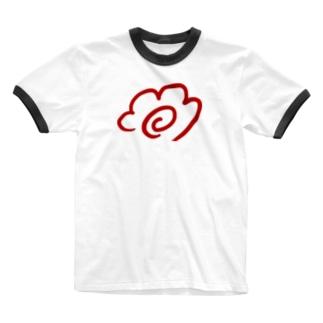 aki_ishibashiのはなまる Ringer T-shirts