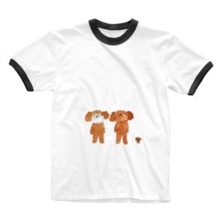 シェリガジュ 本物はどれ? Ringer T-shirts