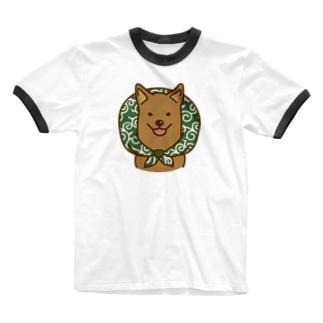 お世話になります Ringer T-shirts
