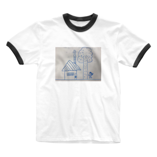 mizusakiの聖委員長のイラスト Ringer T-shirts