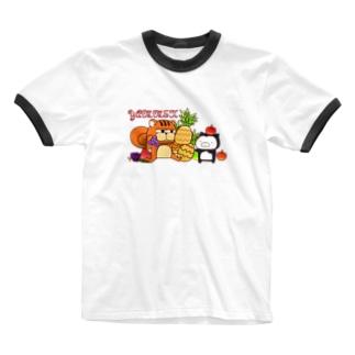 フルーティーYAMMEH Ringer T-shirts
