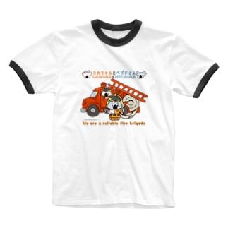 arffykenのコカちゃんとペプチくん(cocakoala & peptikoala) Ringer T-shirts