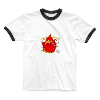 熱血! Ringer T-shirts