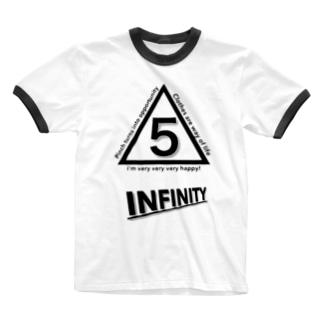 INFINITY Ringer T-shirts