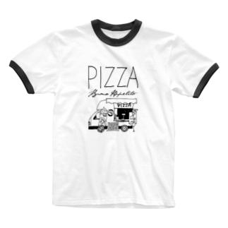 カプリの丘 Tシャツ Ringer T-shirts