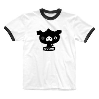 octon #basic Ringer T-shirts
