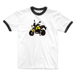 GROM YELLOW Ringer T-shirts