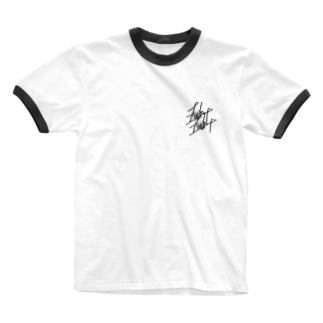 fade white Ringer T-shirts