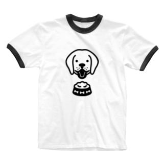 Dog food Ringer T-shirts