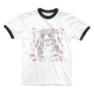 rstっかっつお Ringer T-shirts