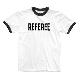 REFEREE レフェリーロゴ Ringer T-shirts