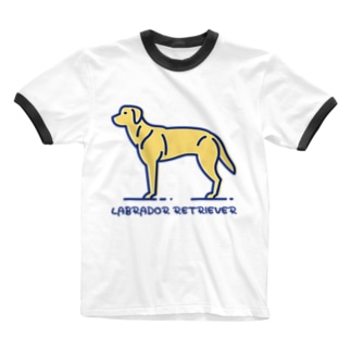 ラブラドール・レトリバー・LABRADOR RETRIEVER Ringer T-shirts