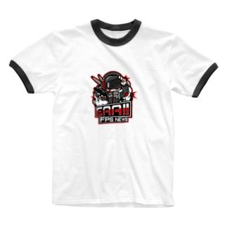 新ロゴ「EAA(いぇあ)軍曹(仮)」 v2 Ringer T-shirts