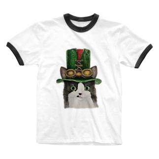 スチームパンクなミッシェル Ringer T-shirts