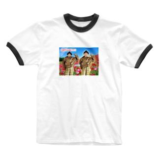 三日でこんなに? Ringer T-shirts