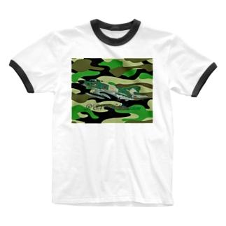 RF-4EJ phantom Ringer T-shirts