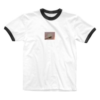 あめちゃん Ringer T-shirts