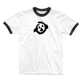 いぬくん Ringer T-shirts
