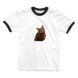 ごえもん Ringer T-shirts