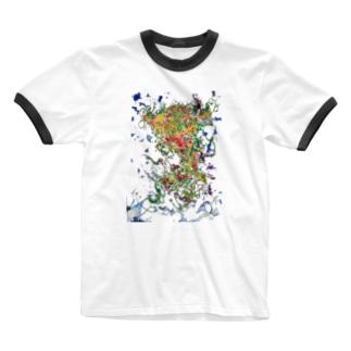 大我A Ringer T-shirts