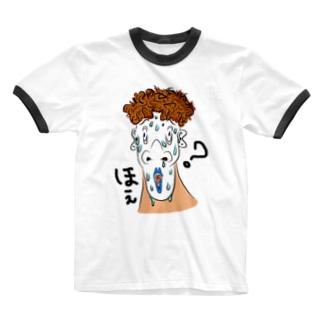 あがり症のおしゃれさん Ringer T-shirts