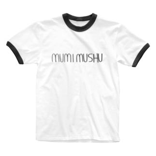 MUMIロゴ Ringer T-shirts