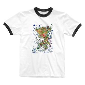 スター大我 Ringer T-shirts