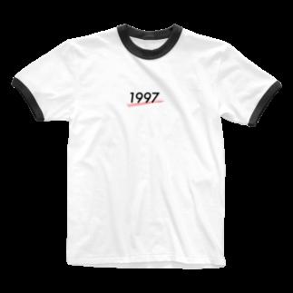 たぴおかの部屋の1997 Ringer T-shirts