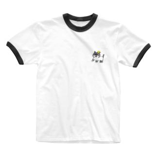 名もないネコ(仮) Ringer T-shirts