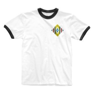 チマヨyellow Ringer T-shirts