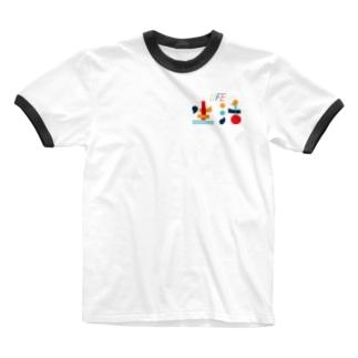 生活の色 Ringer T-shirts