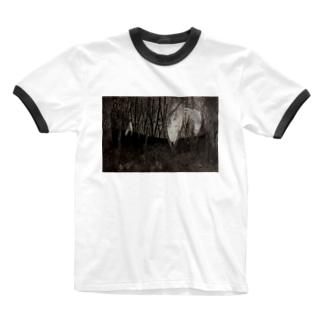 境界 Ringer T-shirts