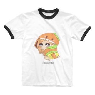 ダヒョン 着ぐるみ赤ちゃんキャラ Ringer T-shirts
