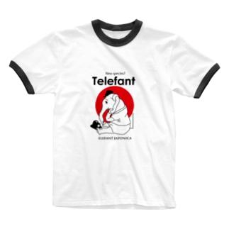 Telefant Ringer T-shirts