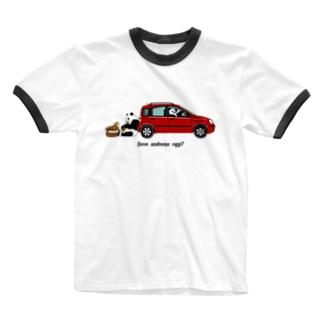 イタリアの車がすき2★ Ringer T-shirts
