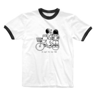 星降る夜に Ringer T-shirts