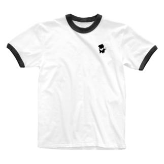 【nina&bart】素バート Ringer T-shirts