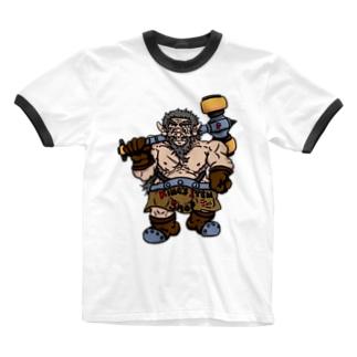 ドワーフ・キング 『バイエル』 Ringer T-shirts