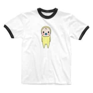めめたん(小) Ringer T-shirts