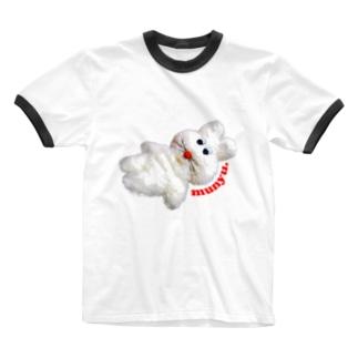 プクプクリンガーティー! Ringer T-shirts