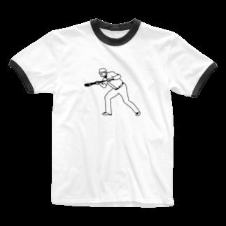 Panic Junkieのバント Ringer T-shirts