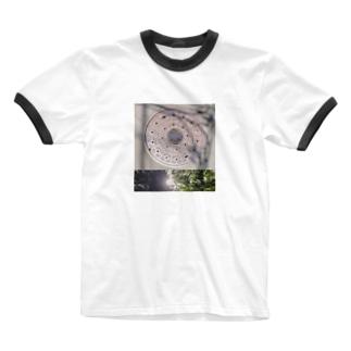 自然と作り物 Ringer T-shirts