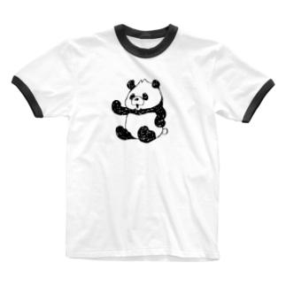 パンドゥ_1 Ringer T-shirts