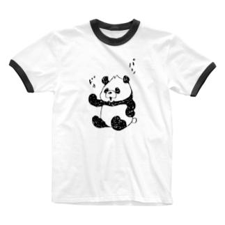 パンドゥ_2 Ringer T-shirts