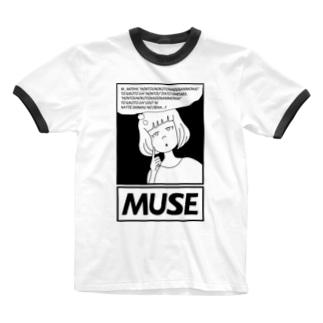 AgirlZ_M Ringer T-shirts