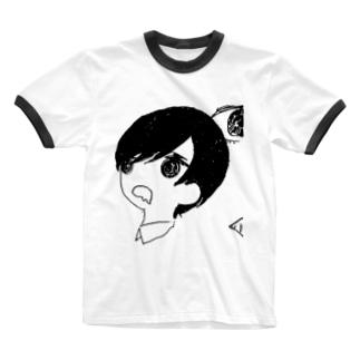 おなかすいた Ringer T-shirts