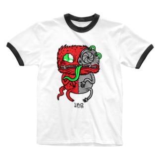 Me-Chameleon Ringer T-shirts