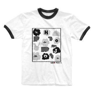 北条民 Ringer T-shirts